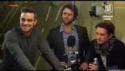 Take That à la radio DJ Italie 23/11-2010 46018c110832491