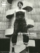 Gemma Arterton-G Star Raw Adverts