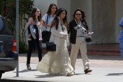 Vanessa Hudgens flaunts Boho-Chic Look in Floral Maxi Skirt.