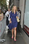 Иванка Трамп, фото 687. Ivanka Trump walks into the Today show in New York City - 18.08.2011, foto 687