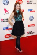 Лена Майер-Ландрут, фото 715. Lena Meyer-Landrut 1Live Krone Awards in Bochum, 08.12.2011, foto 715