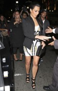 "Kim Kardashian + La La Vasquez *Leggy* Out & About @ ""Katsuya"" Restaurant In Hollywood -July 30th-2010- (HQ X13)"