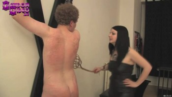 The Young Mistress Tramples and Punishes The Slave